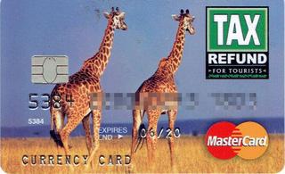 VATが還付されるデビットカード